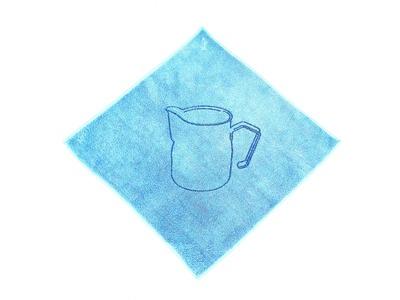KIALOA Barista Reinigungstuch für Milchlanze