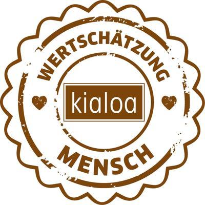 Namensschild für KIALOA Barista Schürze - Weiss