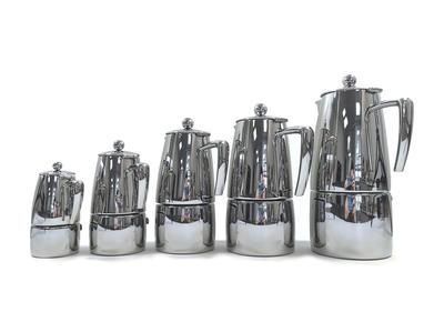 "ILSA Espressokocher ""Slancio"" aus Edelstahl 25cl / 4 Tassen"