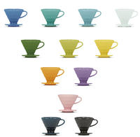 "Hario V60 Ceramic Dripper Colour Edition ""All Colour Box"""