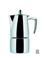 "ILSA Espressokocher ""Slancio"" aus Edelstahl 10cl / 1 Tasse"