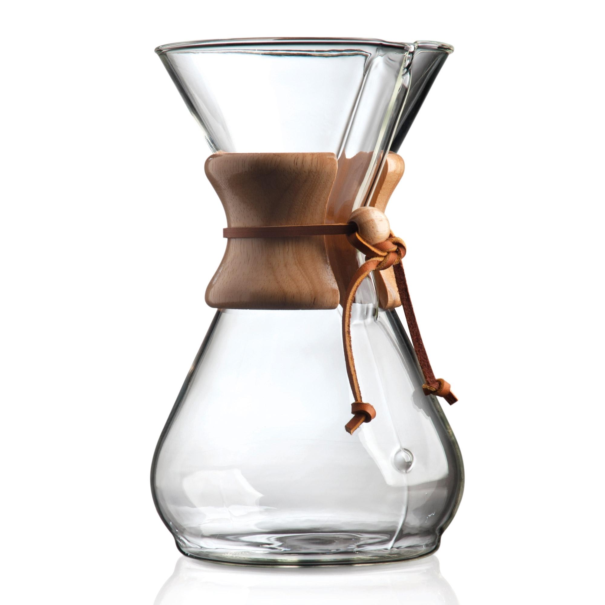 CHEMEX Woodneck 8 Cup