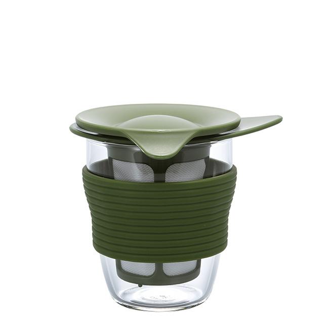 HARIO Handy Tea Maker 200ml - Olive Grün