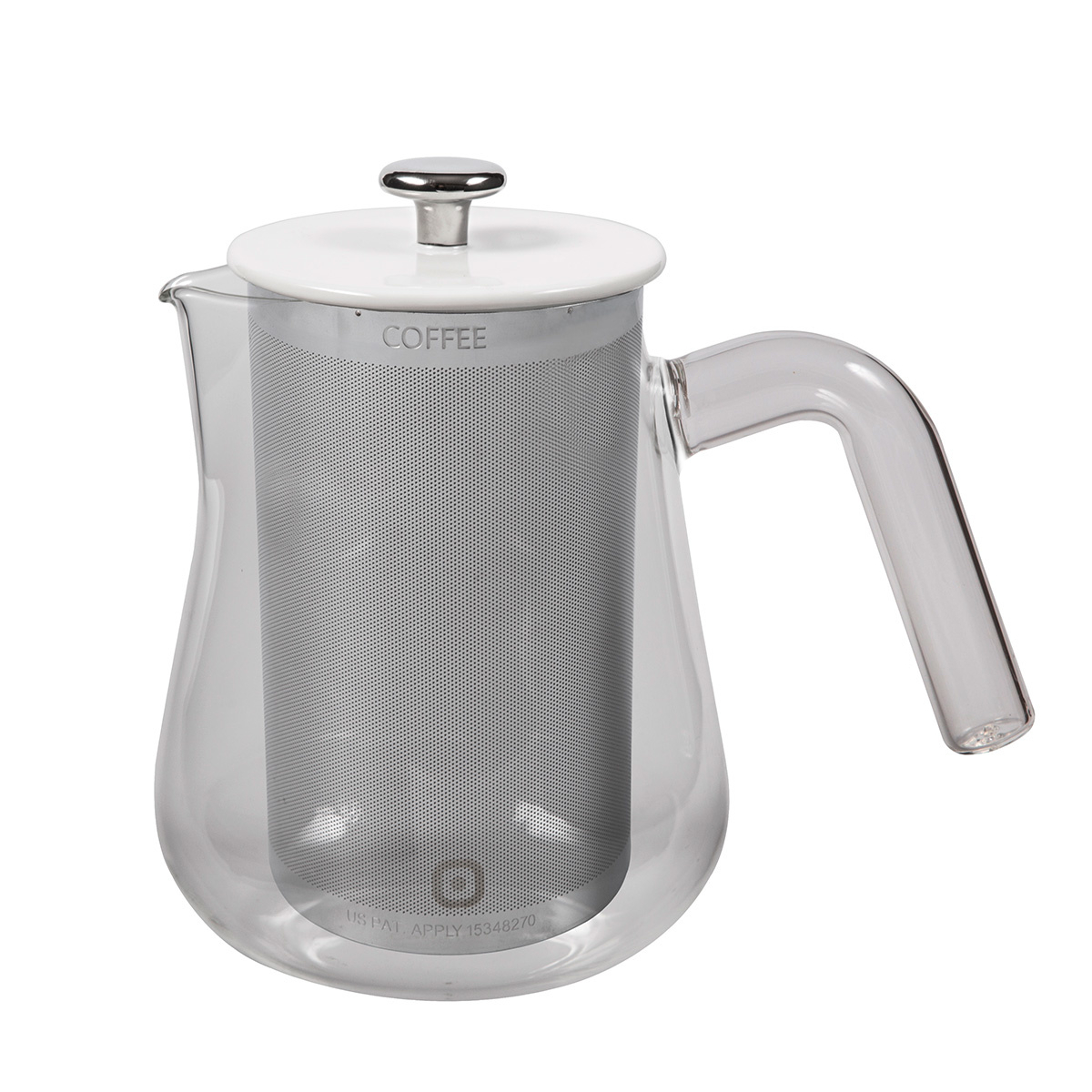 Carl Henkel ARCA X-TRACT-BREW 0.8l Clear handle