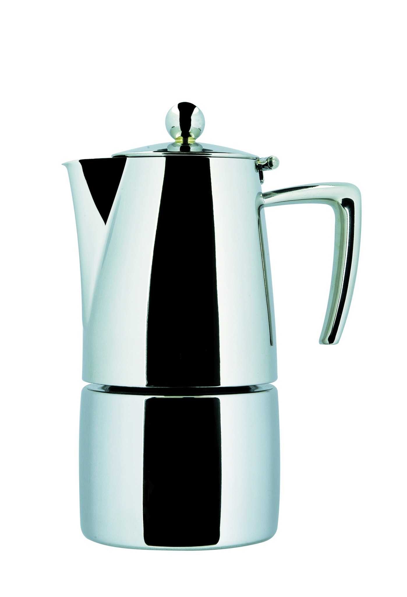"ILSA Espressokocher ""Slancio"" aus Edelstahl 15cl / 2 Tassen"