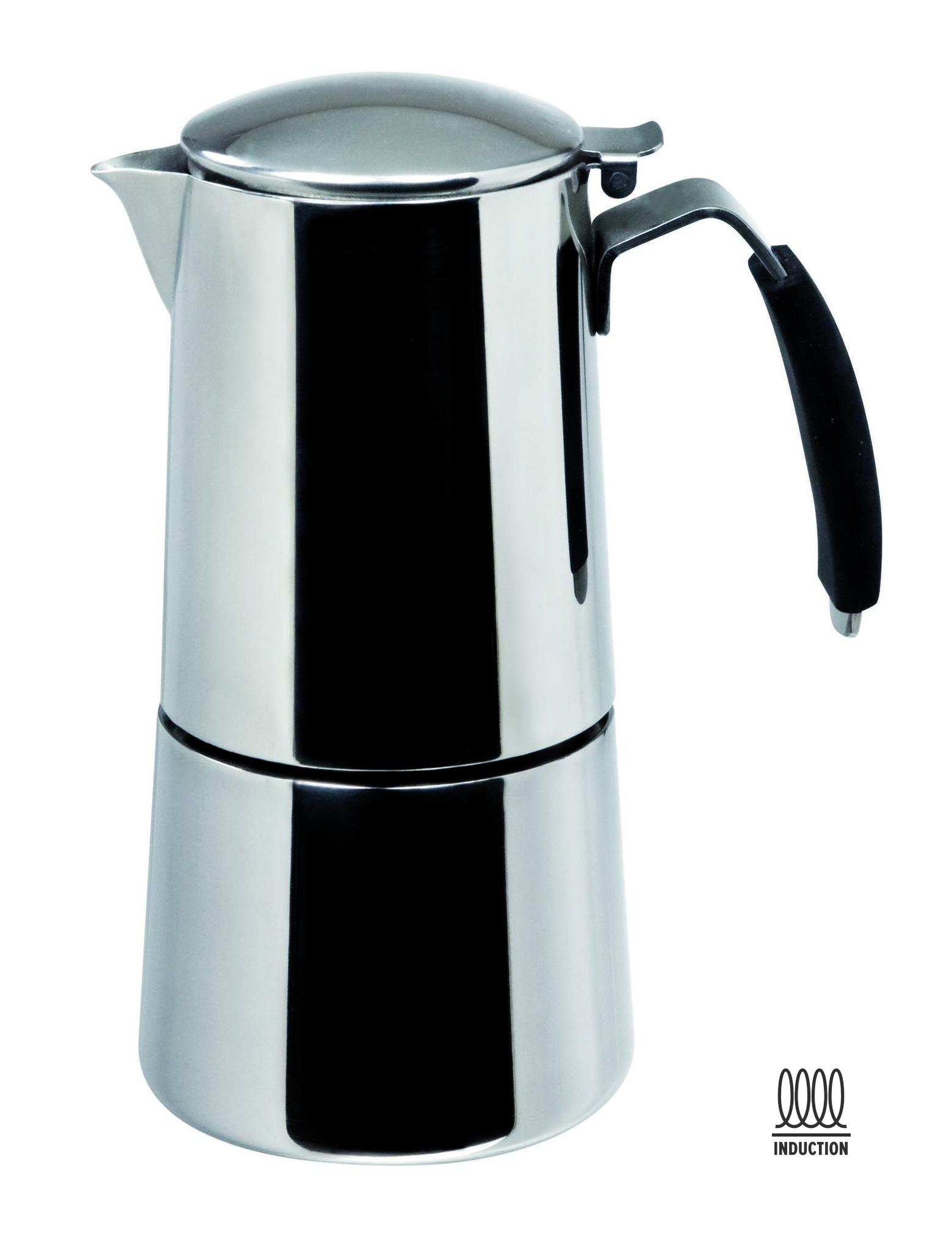 "ILSA Espressokocher ""Omnia"" aus Edelstahl 15cl / 2 Tassen"