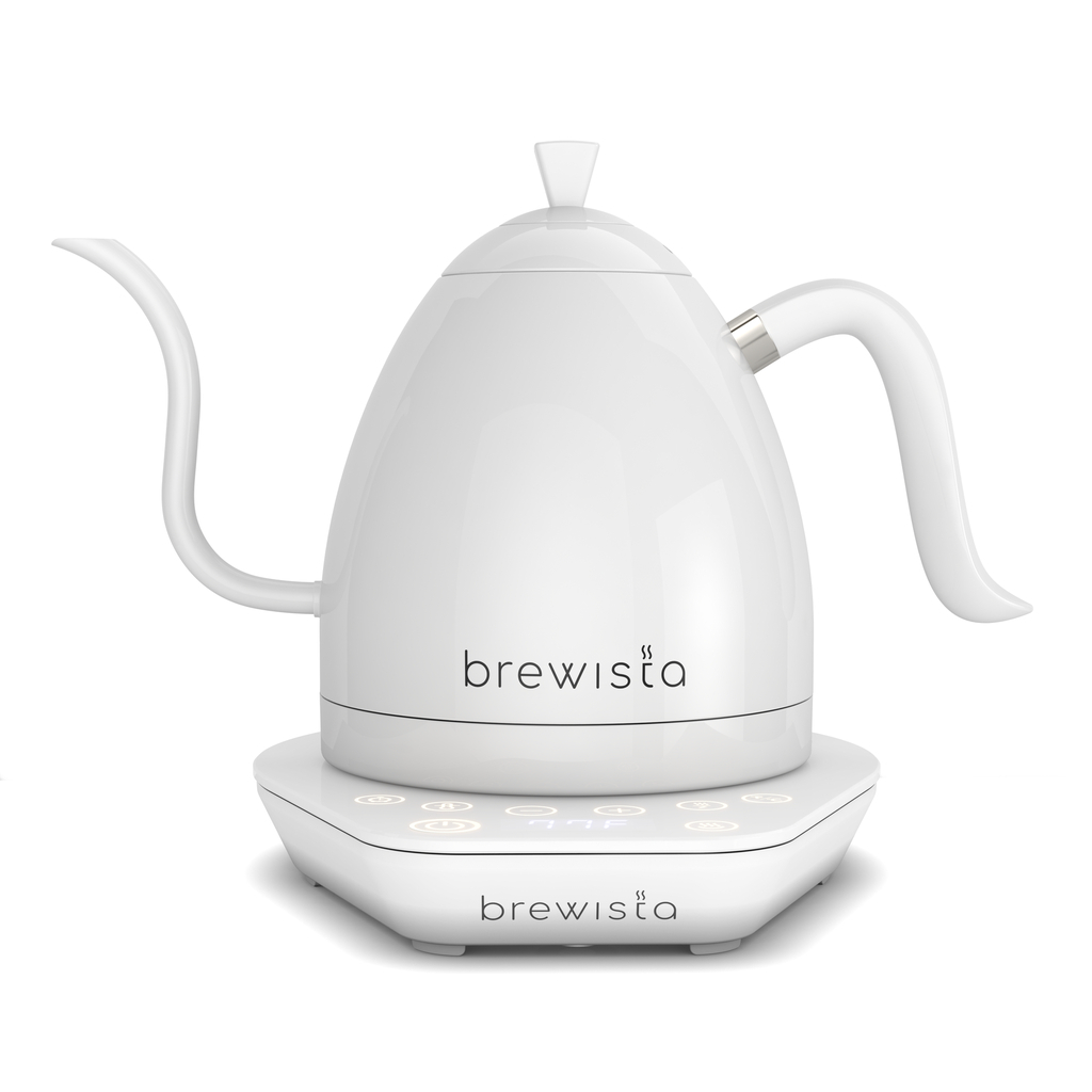 Brewista Artisan 1.0L Electric Gooseneck Kettle - Weiss